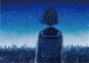 最後の星空