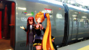 【第一回MMD静止画祭】鹿児島行の列車に乗って