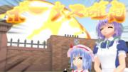 紅魔館爆発1