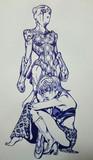手描きボールペン トリッシュ・ウナ