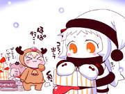 クリスマスの準備中