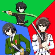 刀が武器の主人公達