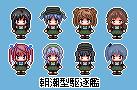 朝潮型駆逐艦ドット絵(修正版)