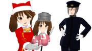 【MMD艦これ】RJちゃんからのクリスマスプレゼント