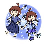 ポップンな剣道少女