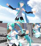 【MME】不透明水彩風にするエフェクト