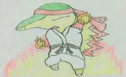 ヒノアラシ(リュウ衣装) ver.2
