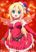 クリスマス 天使ぽい