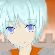青い髪の少年
