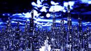 【MMDステージ配布】聖夜の街 JJ5_Ver1.2【AL対応スカイドーム】