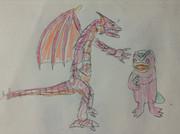 モッチーとドラゴン