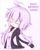 Happy Birthday!! ゆかりさん。