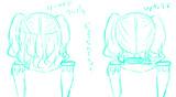 鹿島の髪型