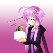 ゆかりんお誕生日おめでとう!