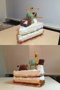 『霞「提督、Lv100」のケーキ』を作ってみた