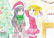 クリスマス絵~2015