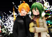 クリスマスの2人