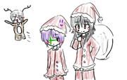 クリスマスむらさきのこ