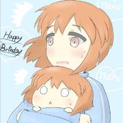 「「「雪歩!誕生日おめでとう!!!」」」