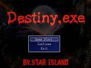 自作ゲーム:Destiny.exe(Ver.1.08)完成&公開!