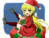 クリスマス仕様の皐月だよっ