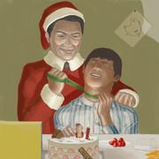サンタのおじさん
