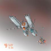 地球連邦軍外宇宙航行艦「リトルス」OSC-01
