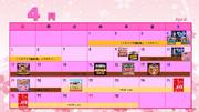 2015年のニコニコイベントまとめてみたカレンダー 4月編