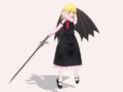 【格ゲー風?MMD】EXルーミアの必殺技