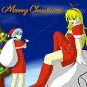 【Voiceroid】クリスマス【猿の落描帳】