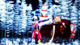「メリークリスマス、ケーキモッテキタヨw」