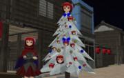 赤蛮奇の楽しいクリスマスツリー