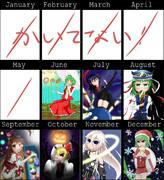 絵師一年進化録(半年)