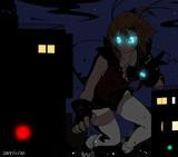 怪獣少女の夜戦