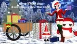 サンタコスの弥希さんからのクリスマスメセージ 2015年