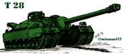 超重戦車T28