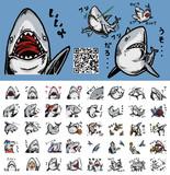 サメスタンプ