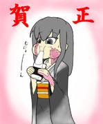 シルヴィちゃんに日本食を与えてみよう!その5・特別篇「もち」