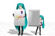 【MMDモデル配布】ぽち袋【お年玉下さい!】