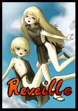 オリ漫画『Reveille』扉絵風イラスト