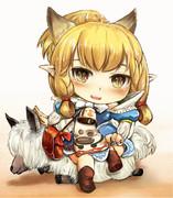 MHX猫嬢カティ(ねんどろいど風)