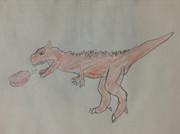 火吹きカルノタウルス