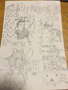中学生が描いたニコニコ年賀状!