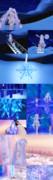 【MMD】雪原や氷の城など【ステージ配布あり】