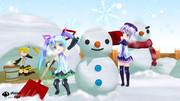 業務連絡:雪合戦は休憩後に開催します。