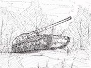 試製新砲戦車(甲)‐ホリ