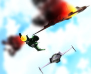 一年戦争な空戦