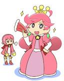 『ラフィーナ姫』描いてみたかった。