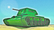 戦車....?