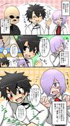 Fate/Goの公式生放送でノッブがやらかしたアレの漫画